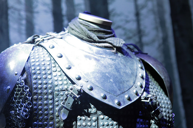 Armour from GAME OF THRONES.