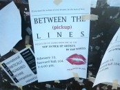 A flier advertising a pickup artist event on the Harvard campus.