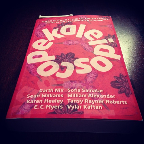 My copy of KALEIDOSCOPE.