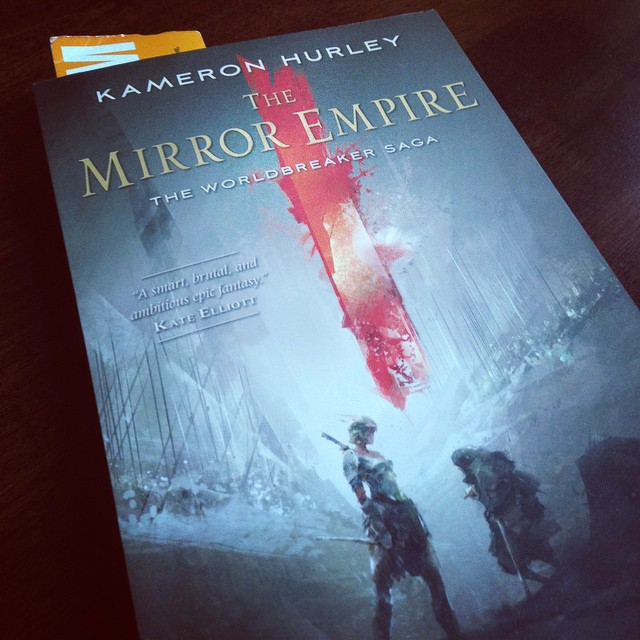 My copy of The Mirror Empire