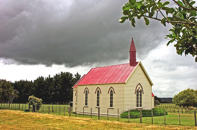 A church in New Zealand