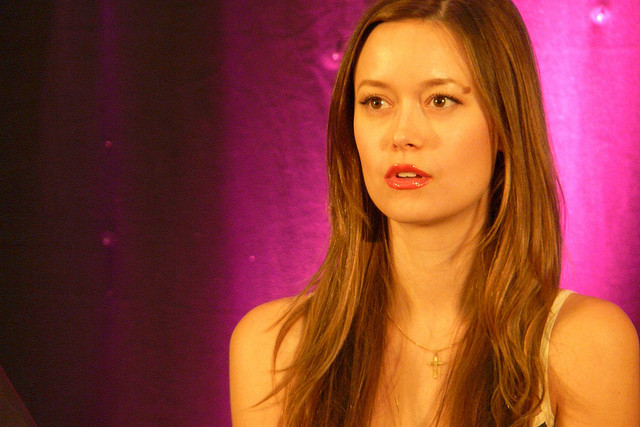 Actress Summer Glau at an event