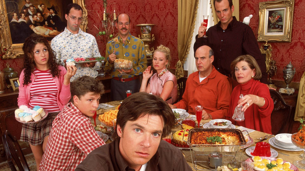 A promotional still of the Arrested Development cast.