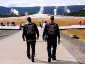 Two veterans in Yellowstone