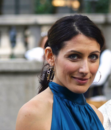 Actor Lisa Edelstein at an event.