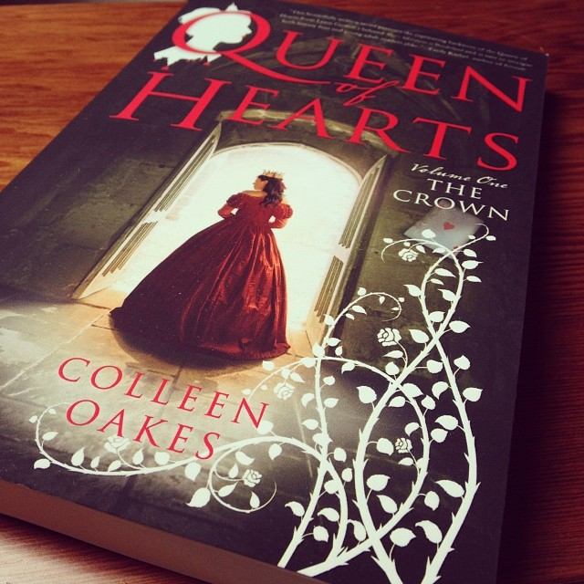 My copy of QUEEN OF HEARTS.