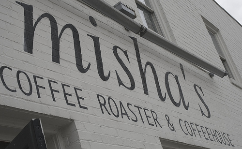 A coffee roaster and coffeehouse.