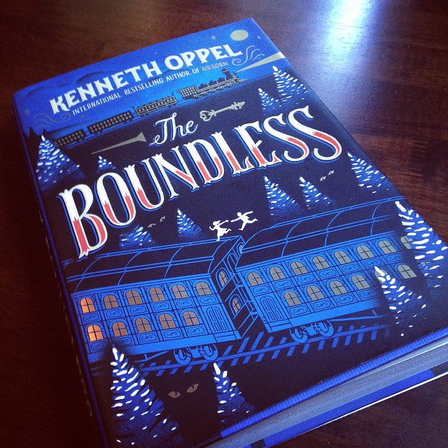 My copy of THE BOUNDLESS