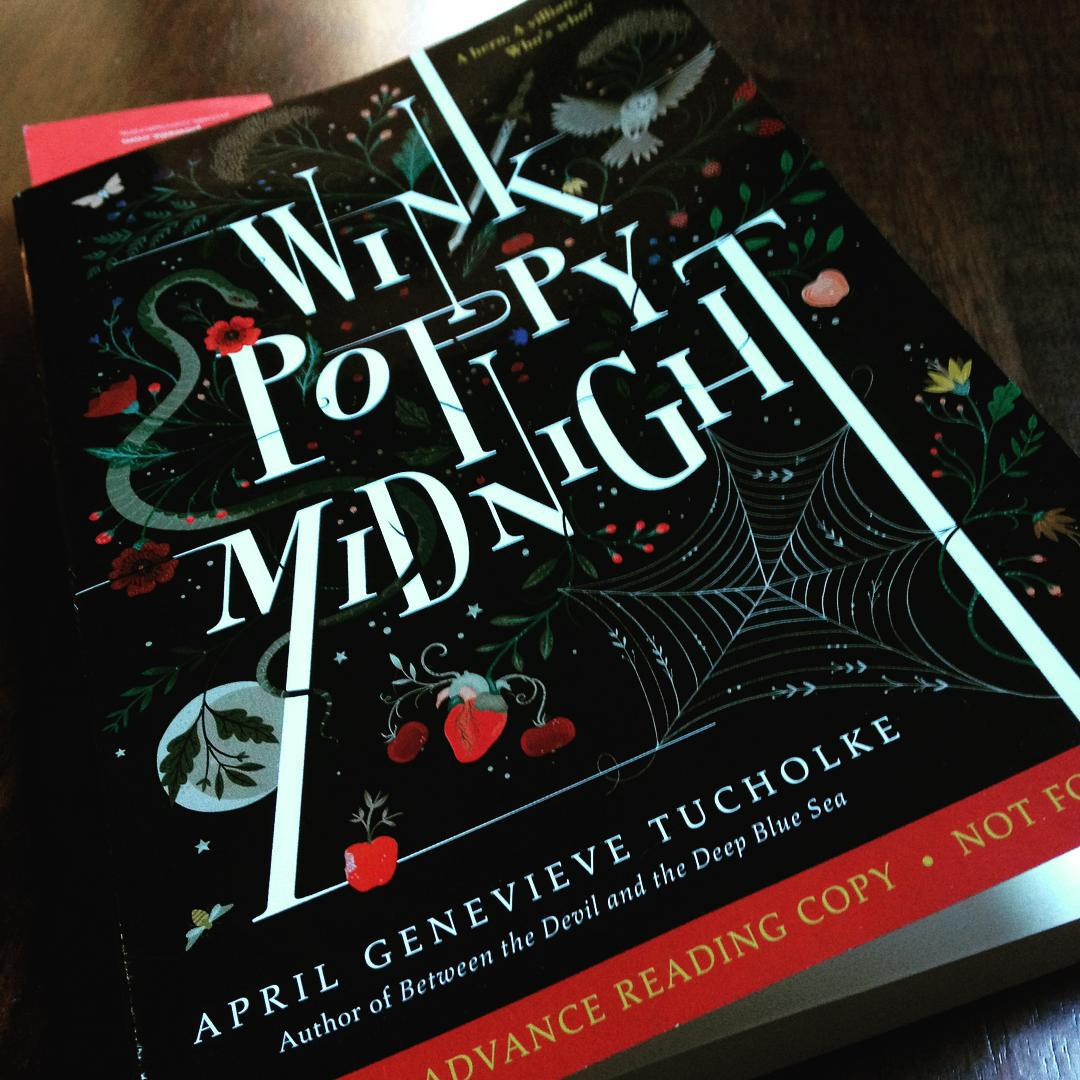 Tangled vines and creatures on the cover of WINK POPPY MIDNIGHT